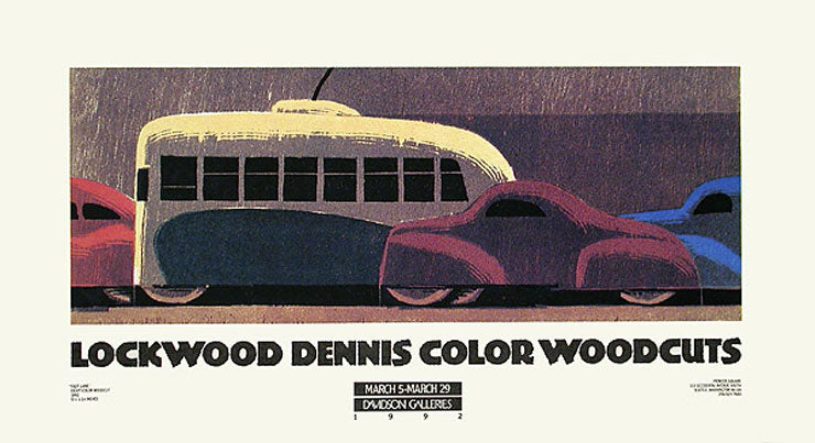 Lockwood Dennis Color Woodcuts Poster by Lockwood Dennis - Davidson Galleries