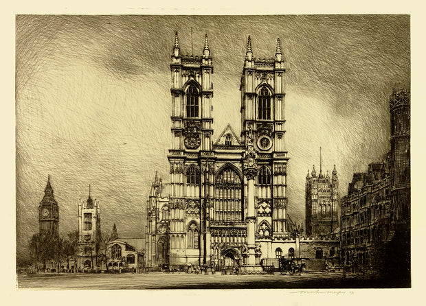 Westminster Abbey by Mortimer Luddington Menpes - Davidson Galleries