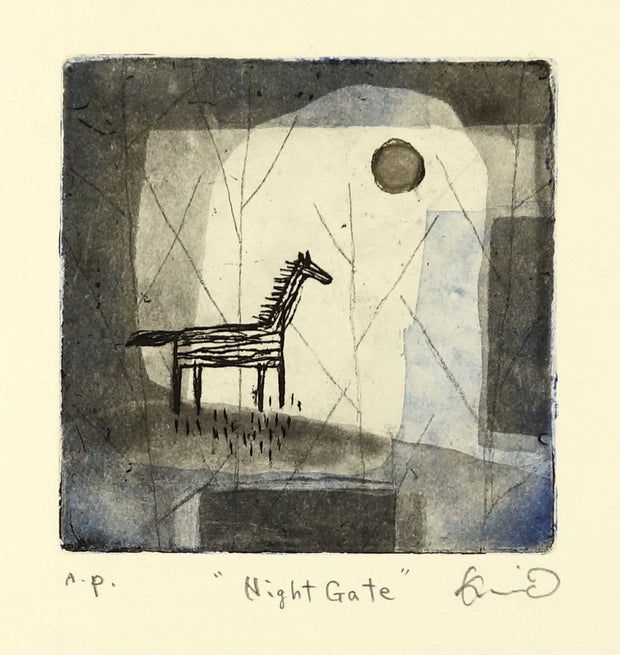 Night Gate by Kumi Obata - Davidson Galleries