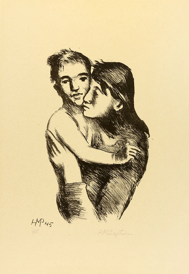 Mutter und Sohn by Max Hermann Pechstein - Davidson Galleries