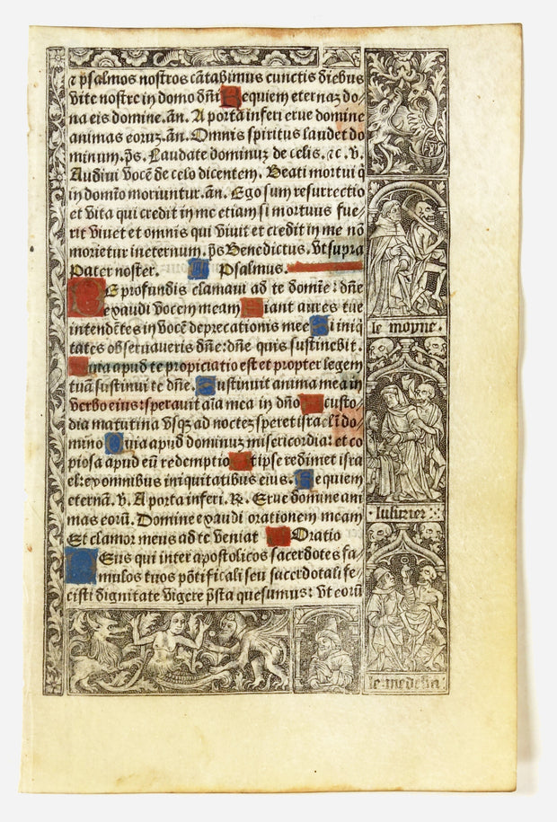 Printed Book of Hours by Manuscripts & Miniatures - Davidson Galleries