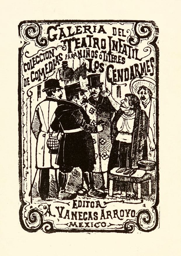 Los Gendarmes (The Police) by José Guadalupe Posada - Davidson Galleries