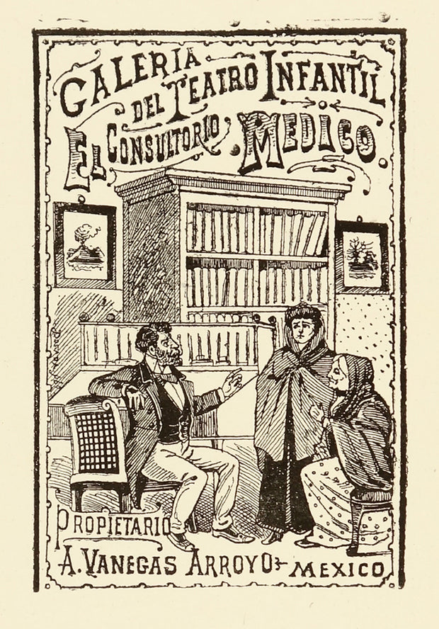 El Consultorio Medico  (The Medical Consultation) by José Guadalupe Posada - Davidson Galleries