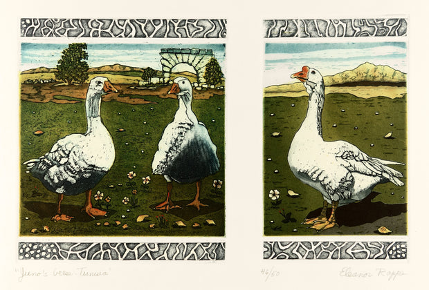 Juno's Geese - Tunisisa by Eleanor Rappe - Davidson Galleries