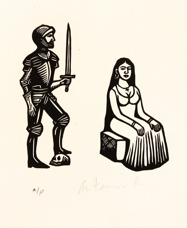Untitled (Knight and Woman)