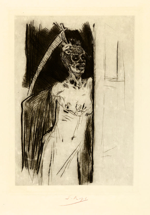Mors Syphilitica by Félicien Rops - Davidson Galleries