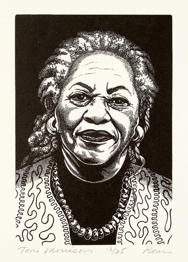 Toni Morrison by Abigail Rorer - Davidson Galleries