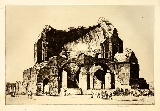 Temple of Minerva, Rome by Louis Conrad Rosenberg - Davidson Galleries