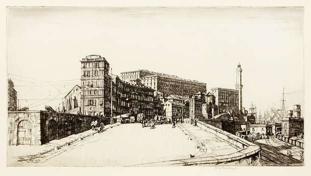 Genova by Sir Henry George Rushbury - Davidson Galleries