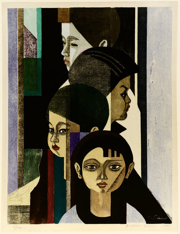 Four Children by Jun'ichiro Sekino - Davidson Galleries