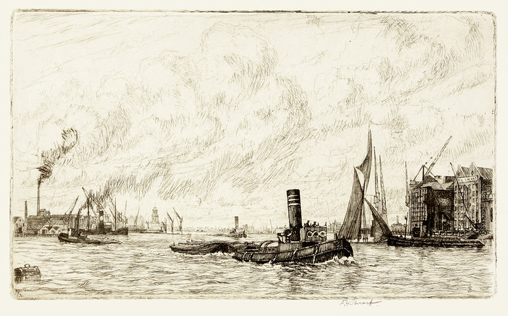 Wind, Sail and Steam by Douglas Ian Smart - Davidson Galleries