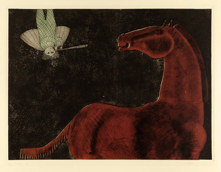 Caballo rojo by Leticia Tarrago - Davidson Galleries