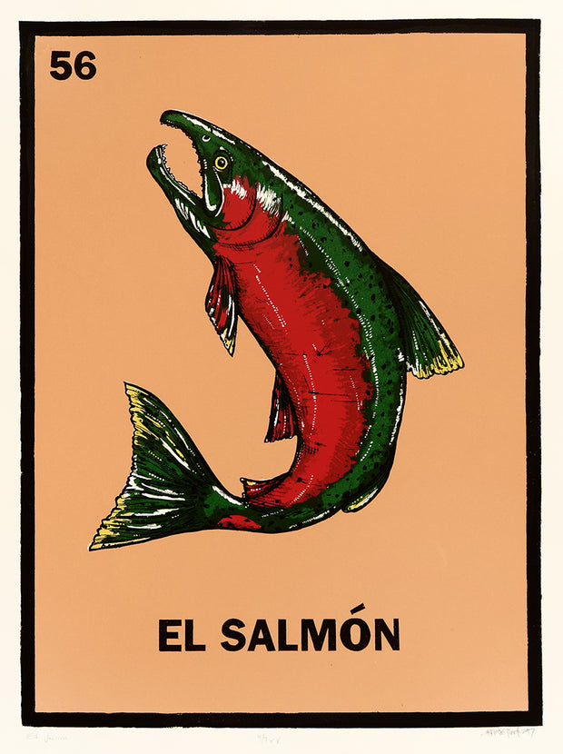 El Salmón by Christie Tirado - Davidson Galleries