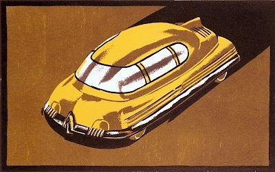 1940s Car of the Future II by Lockwood Dennis - Davidson Galleries