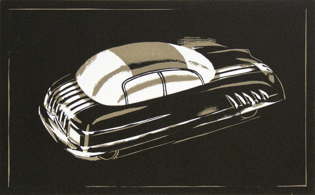1940s Car of the Future III by Lockwood Dennis - Davidson Galleries