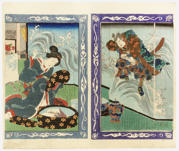 Shunga from SHAKKA HATSUSO (8 Forms of Buddha) by Japanese Shunga - Davidson Galleries