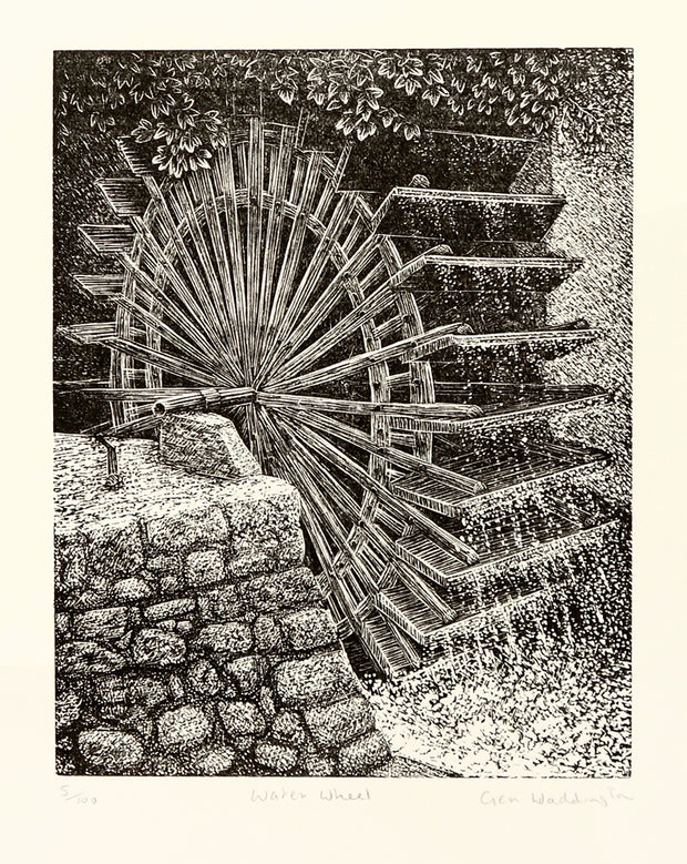 Water Wheel by Geri Waddington - Davidson Galleries