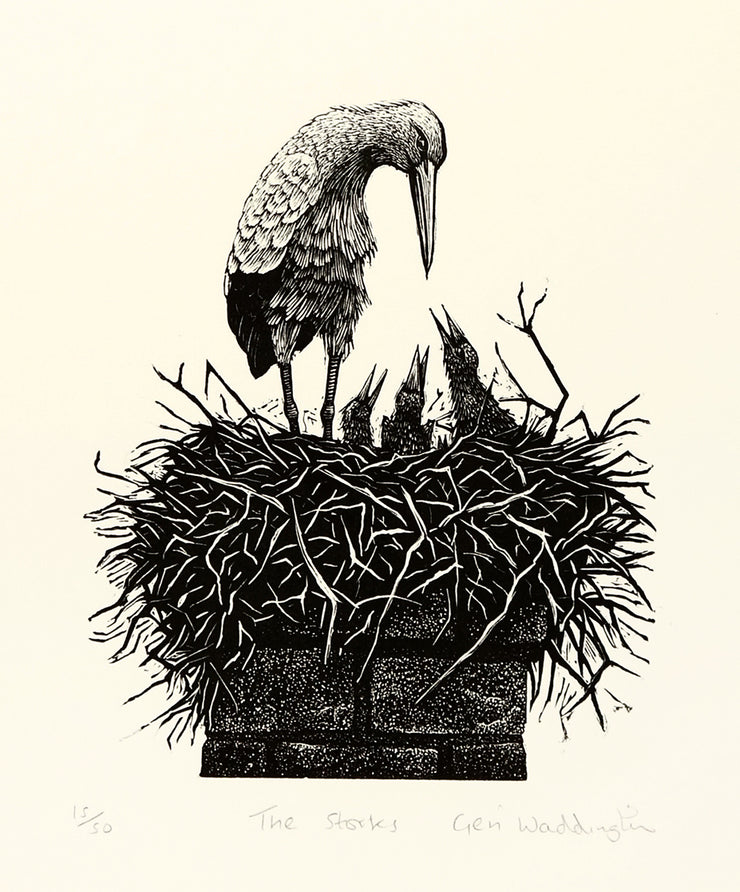 The Storks by Geri Waddington - Davidson Galleries