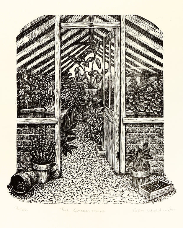 The Greenhouse by Geri Waddington - Davidson Galleries
