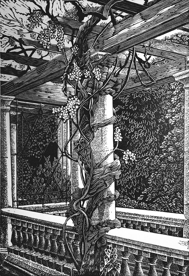 Pergola by Geri Waddington - Davidson Galleries