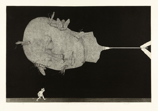 Insect - Narration in Midget Country - Work No. 2 by Yoshio Yamanobe - Davidson Galleries