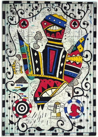 Al Green's Bird by Tony Fitzpatrick - Davidson Galleries