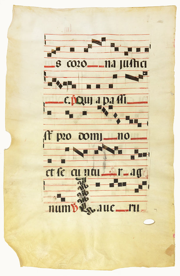 Antiphonal Leaf by Manuscripts & Miniatures - Davidson Galleries