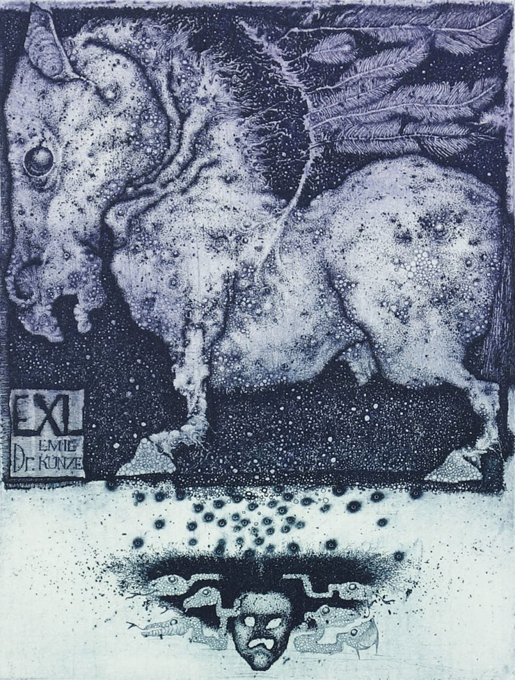 Pegasus (Ex Libris) by Konstantin Antioukhin - Davidson Galleries