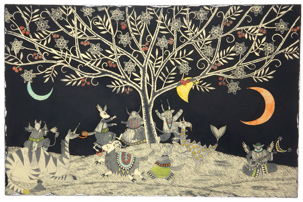 Three Moon Festival by Mio Asahi - Davidson Galleries