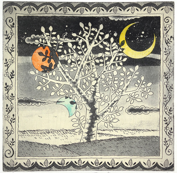 Three Moons and a Tree of Wind by Mio Asahi - Davidson Galleries