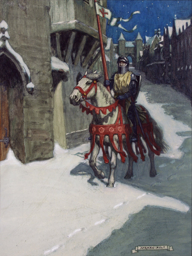 Sir Galahad by Norman Ault - Davidson Galleries