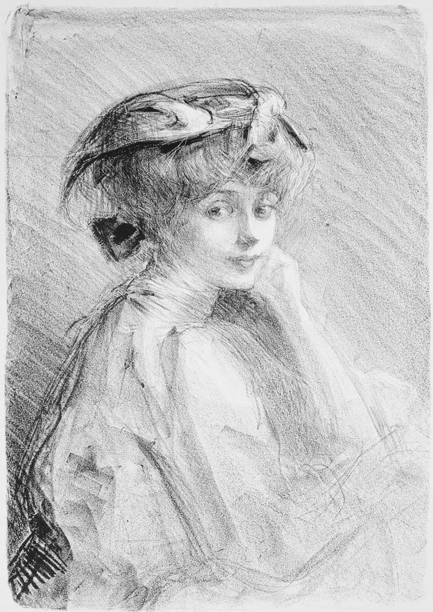 La Petite Caroline by Albert de Belleroche - Davidson Galleries