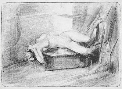 Nude by Albert de Belleroche - Davidson Galleries