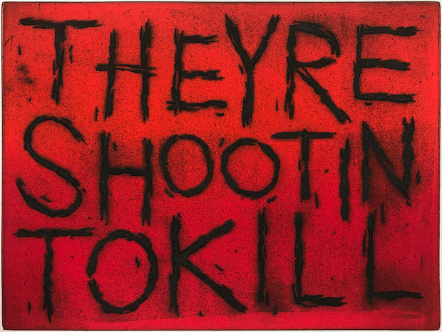 They're Shootin' To Kill by Ben Beres - Davidson Galleries