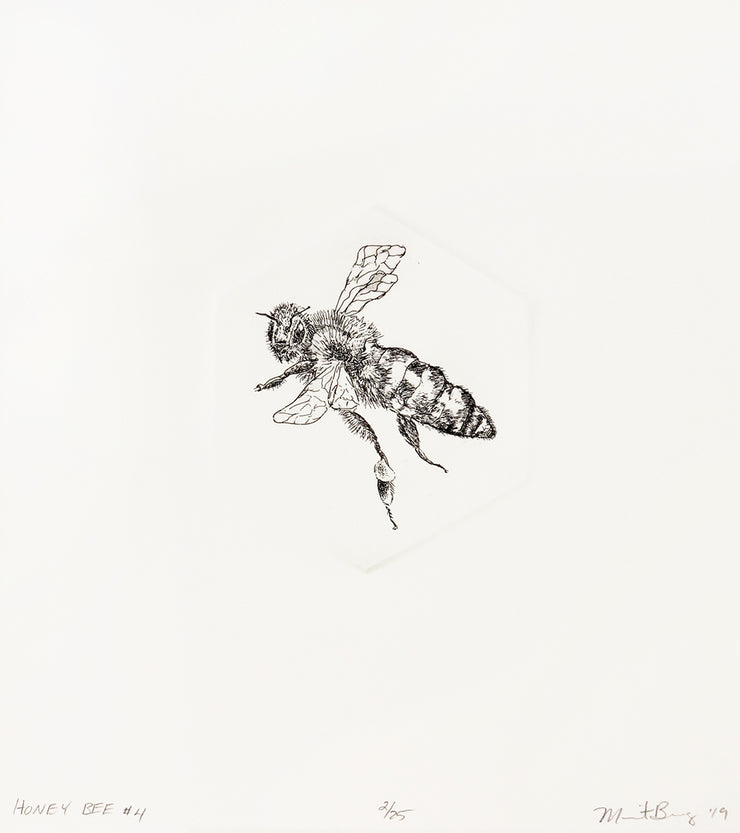 Honey Bee #4 by Marit Berg - Davidson Galleries