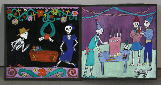 ¿Dónde Está El Baile De Los Esqueletos? (Where Are the Dancing Skeletons?) by Mare Blocker - Davidson Galleries
