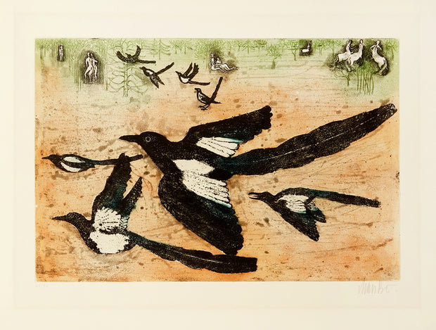 Magpies by Lars Bo - Davidson Galleries