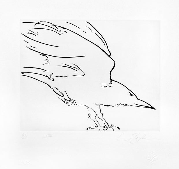 Complete Stances Suite #VI (Suite of 9 drypoint prints) by Frank Boyden - Davidson Galleries