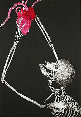 Uncle Skulky Holds the Human Heart by Frank Boyden - Davidson Galleries