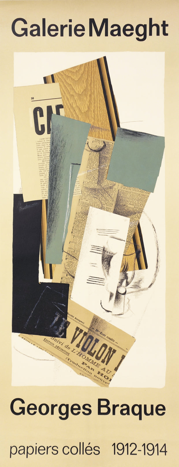 Papier Collés by Georges Braque - Davidson Galleries