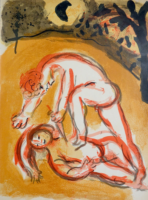Cain et Abel (Cain and Abel) by Marc Chagall - Davidson Galleries