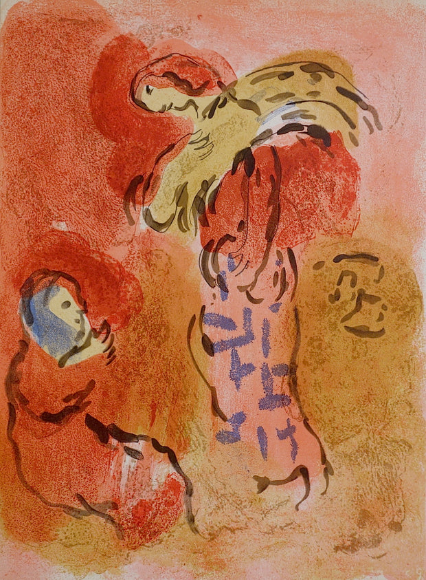 Ruth Glaneuse (Ruth The Gleaner) by Marc Chagall - Davidson Galleries