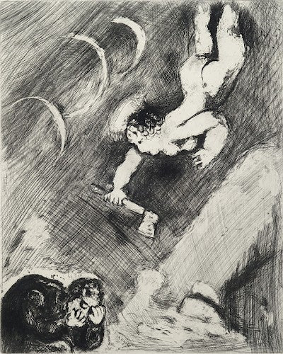 Bucheron et Mercure by Marc Chagall - Davidson Galleries