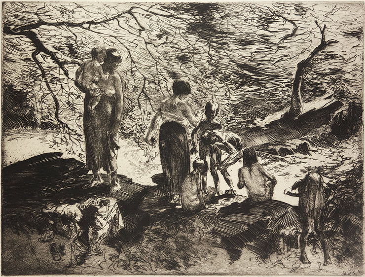 Bathers by John Edward Costigan - Davidson Galleries