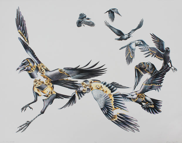 Crow Deconstructed by Emmy Lingscheit - Davidson Galleries