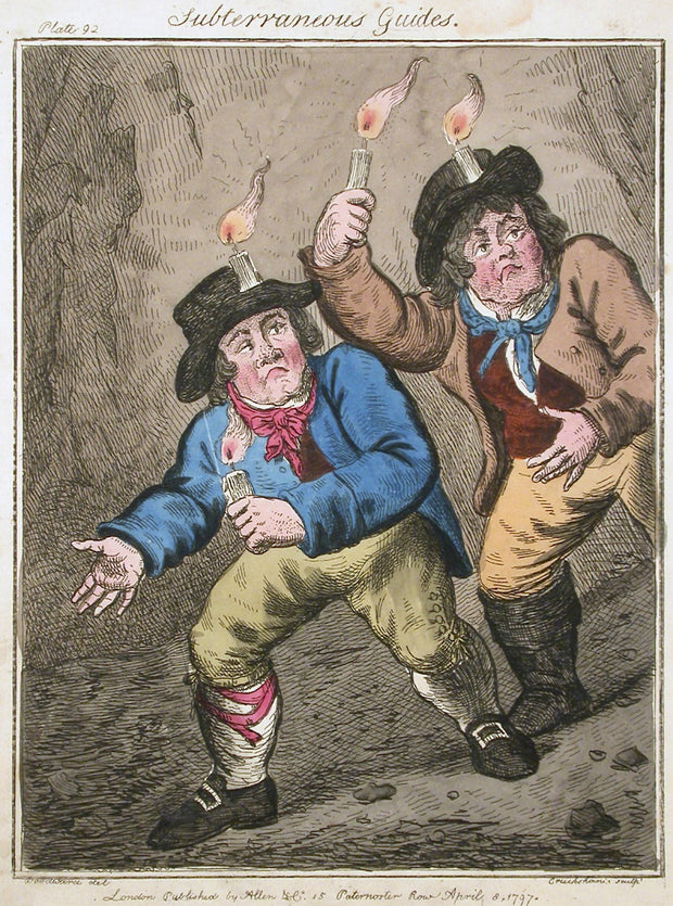 Subterraneous Guides by George Cruikshank - Davidson Galleries
