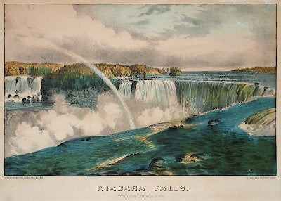 Niagara Falls from the Canada Side by Currier & Ives - Davidson Galleries