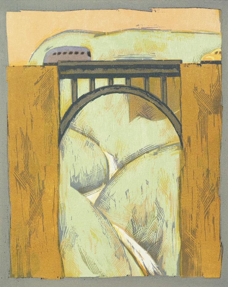 Bridge Over Canyon by Lockwood Dennis - Davidson Galleries