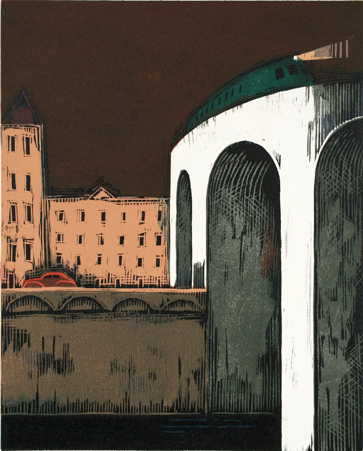 City, Viaduct by Lockwood Dennis - Davidson Galleries