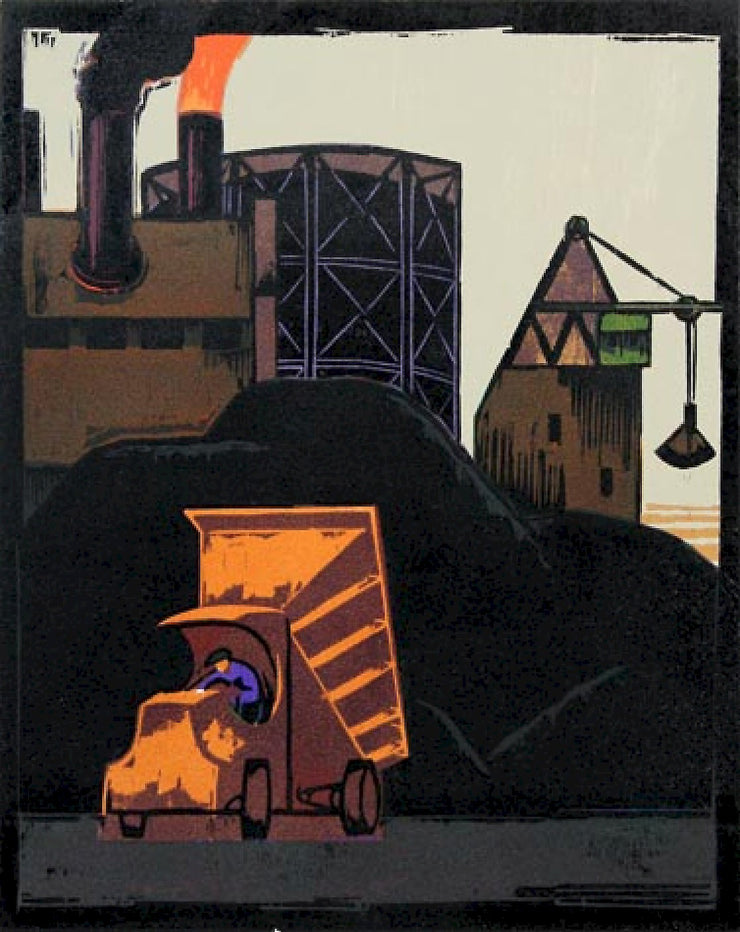 Coal Yard by Lockwood Dennis - Davidson Galleries
